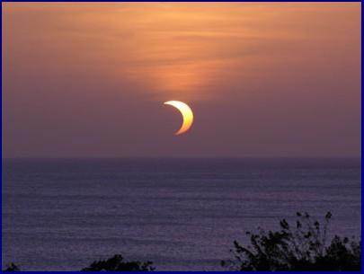 Eclipse de soleil du 8 avril 2005